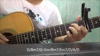 [Hướng dẫn hợp âm guitar] Yêu và yêu - Erik St.319.