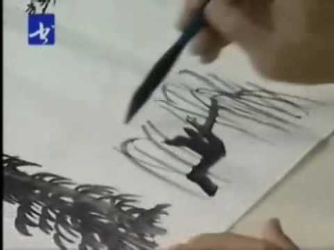 Sumi-e Landscape Chinese Painting (Part 6)