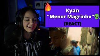 Kyan Menor Magrinho 👽 (Prod. Mu540) [REACT Mah Moojen]