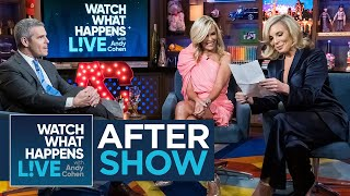 After Show: Does Tinsley Keep in Touch with Carole Radziwill? | WWHL
