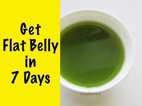 how-to-get-flat-belly-in-7-days---lose-weight-fast-&-get-flat-stomach-with-matcha-green-tea