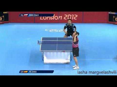 He Zhi Wen vs Wang Zheng Yi (OG 2012)