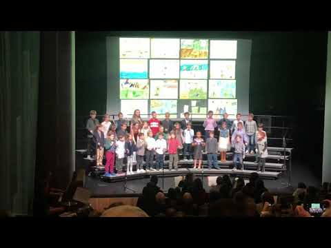 "Third Graders perform ""Respect""  at Stephen Gaynor School Winter Concert 2018"