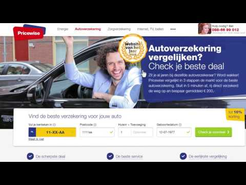 autoverzekeringen vergelijken commercial pricewise 2016