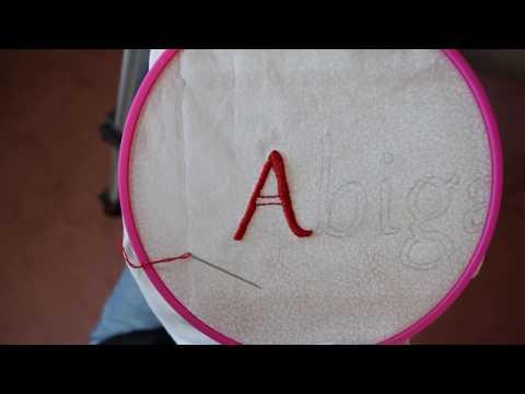 Beginner Satin Stitch Embroidery Tutorial