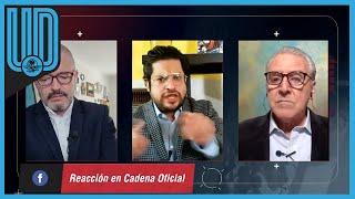 Carlos Albert no está de acuerdo con la práctica del boxeo y se enfrascó en una discusión con el periodista Luis Castillo
