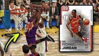 NBA 2K19 FREE RUBY MICHAEL JORDAN IS INSANE!! *LOCKER CODE* | NBA 2K19 MyTEAM GAMEPLAY