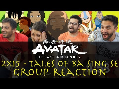 Avatar: The Last Airbender - 2x15 Tales of Ba Sing Se - Group Reaction