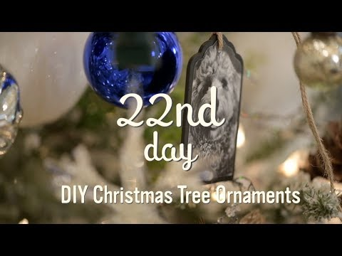 Christmas Tree Decorations | DIY Photo Ornaments