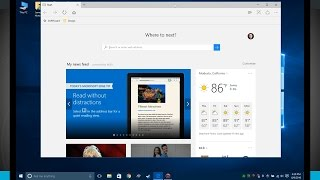 Windows 10 Tips - Microsoft Edge Browser Overview