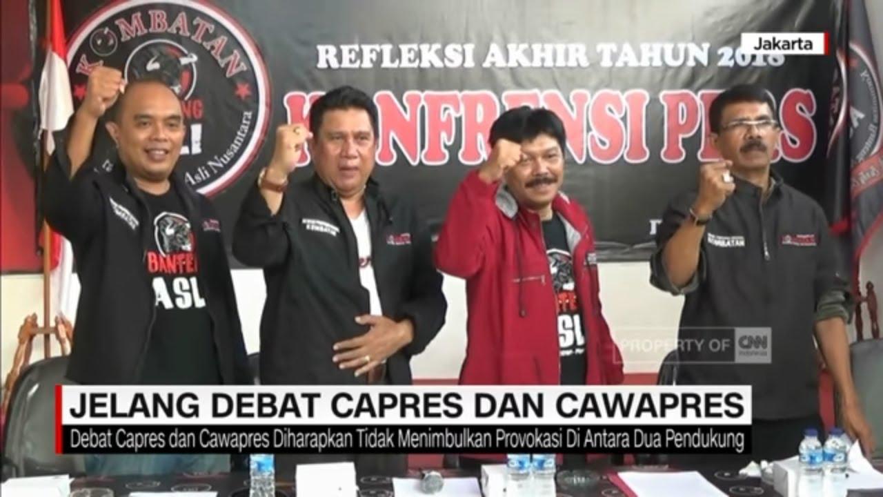 Jelang Debat Capres-Cawapres
