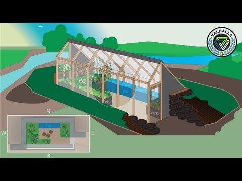 The Farm of the Future | Earthship Inspired Greenhouse | Valhalla Kickstarter Promo