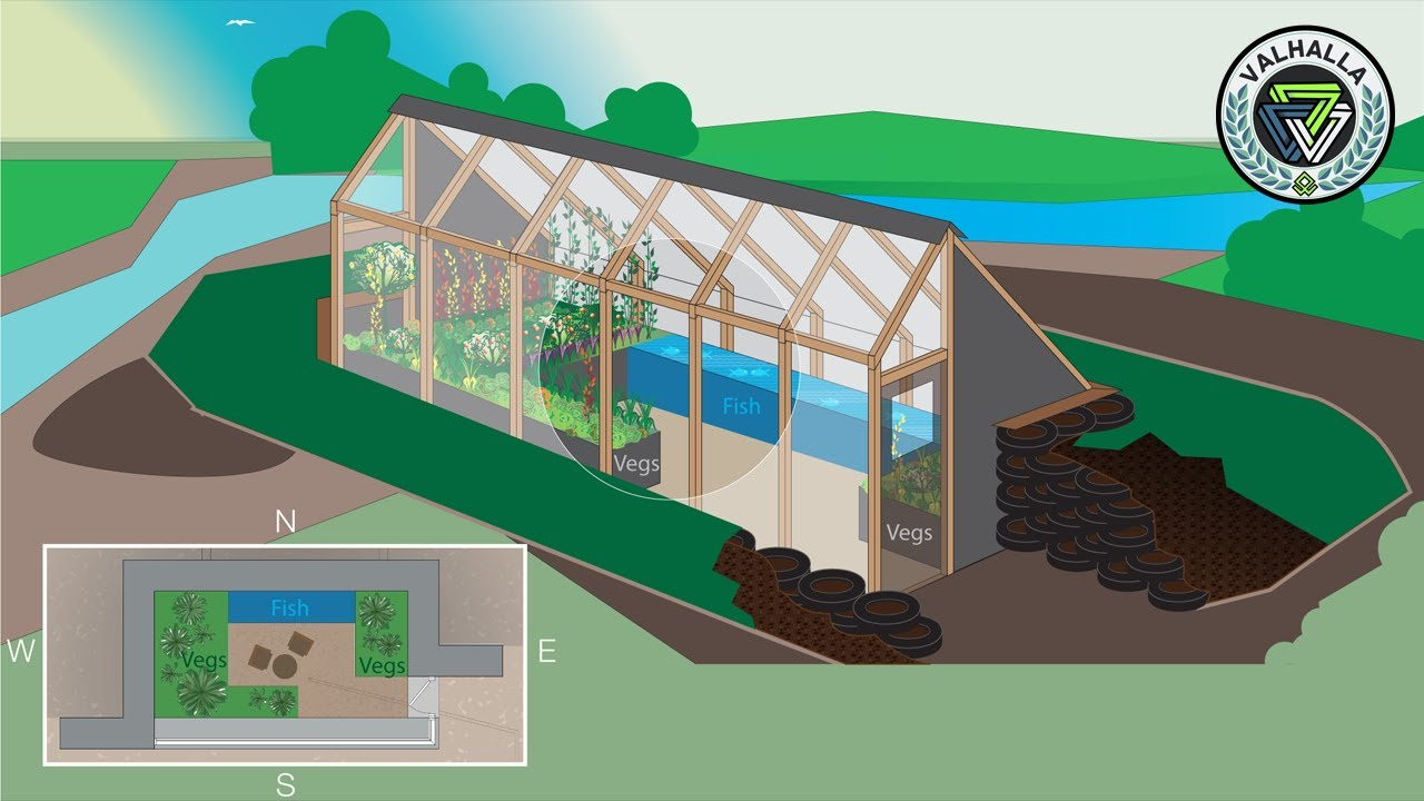 The Farm Of The Future Earthship Inspired Greenhouse