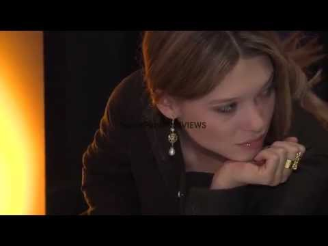 Lea Seydoux at Sister Interview 62nd Berlin International Film Festival