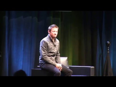 FULL Spotlight on Jeremy Renner Silicon Valley Comic Con San Jose Convention Center March 19 2016
