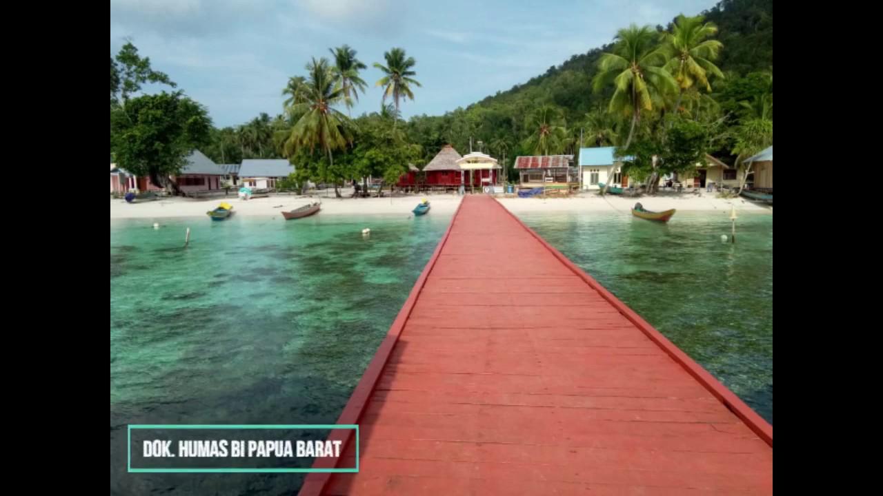 Bi Papua Barat Kembangkan Kampung Sauwandarek Raja Ampat Sebagai Spot Wisata Youtube