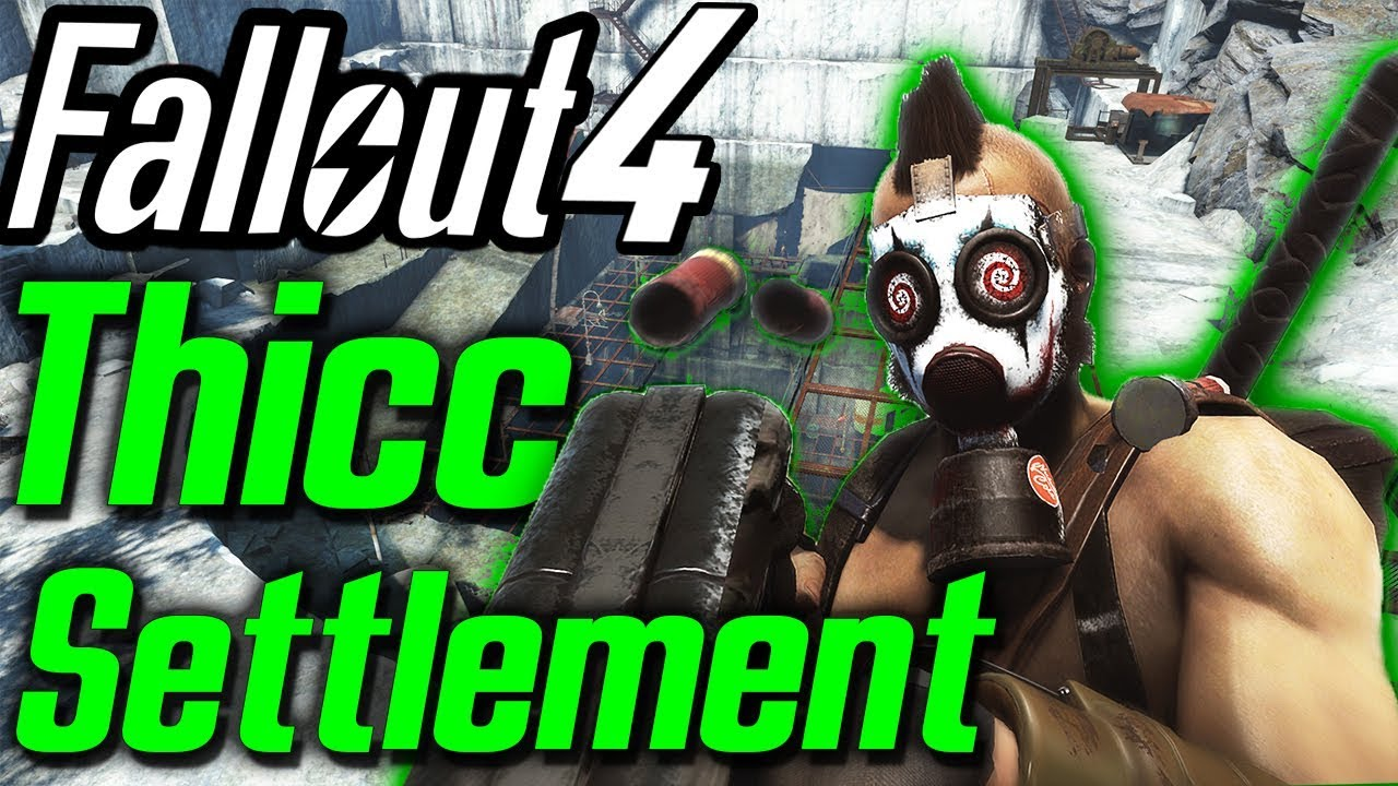 Thick Settlement - Fallout 4 Thicket Executions - Quarry Settlement And  Quest Mod (XBOX/PS4/PC)
