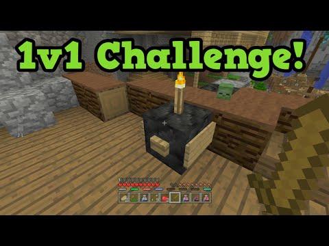 Minecraft Xbox 360 Battle Mode 1v1 vs Subscribers!