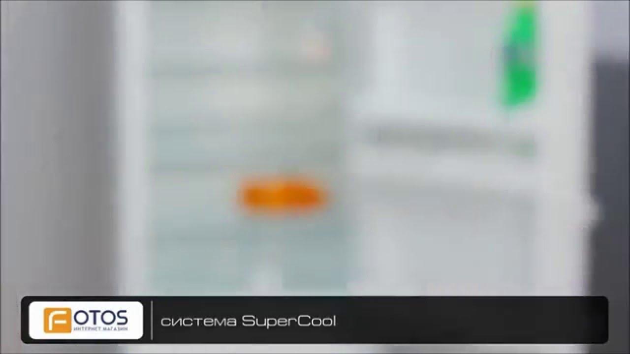 Купить Холодильник с нижней морозильной камерой LG GA-B409UQA .