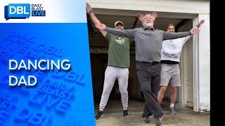 Dad Accepts Viral Dance Challenge On TikTok