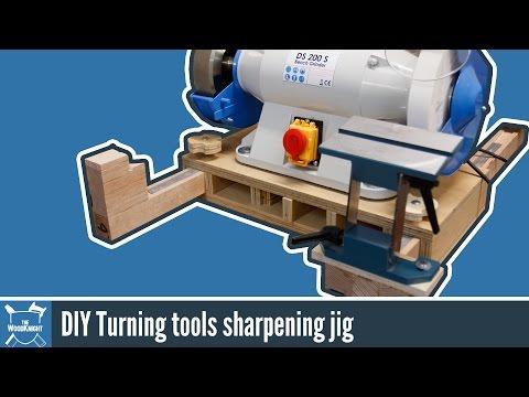 Make a Wood Turning/Grinder Sharpening Jig for $12!
