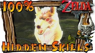 The Legend of Zelda Twilight Princess HD Wii U - All Hidden Skills (Hidden Skill Locations)