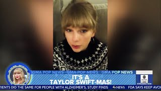 "GMA | Taylor Swift Sets to Release ""Christmas Tree Farm"" Tonight Video"