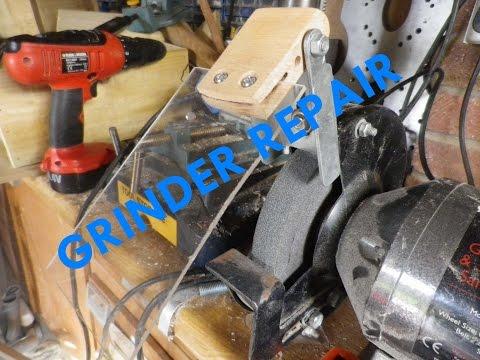 bench grinder wiring diagram    bench       grinder    repair face shield youtube     bench       grinder    repair face shield youtube