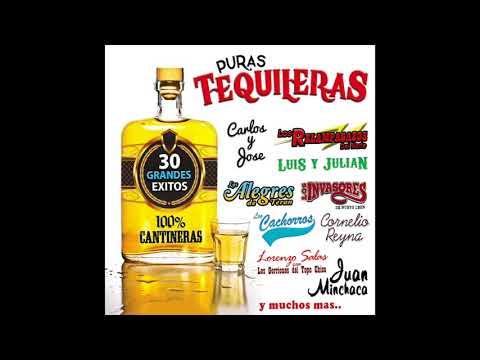"""Puras Tequileras """"100% Cantineras"""" - 30 Grandes Exitos"""" (Disco Completo)"""
