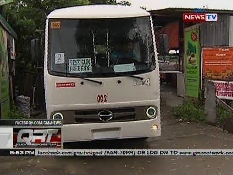 Libreng sakay sa mga bagong Euro-4 jeepney, inilunsad ng Taguig Transport Service Cooperative