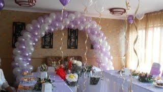 оформление зала шарами Алматы(, 2015-06-30T10:26:52.000Z)