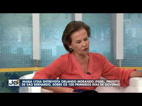 Maria Lydia entrevista Orlando Morando, prefeito de São Bernardo, sobre os 100 primeiros dias