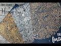 Honey Bee Stamps Zen Ocean Embossed Cards