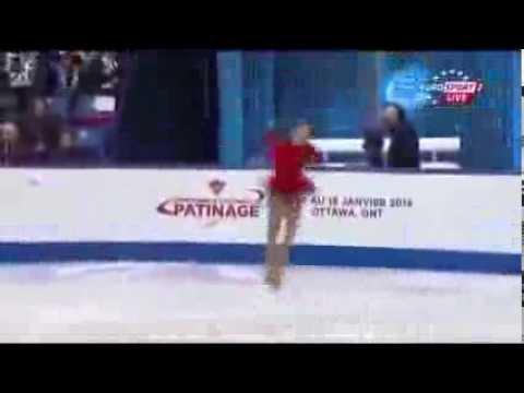 видео: Юлия Липницкая, Гран-при Канада, ПП, Julia LIPNITSKAIA FS Skate Canada 2013