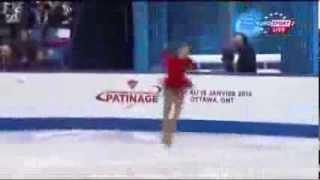 Юлия Липницкая, Гран-при Канада, ПП, Julia LIPNITSKAIA FS Skate Canada 2013