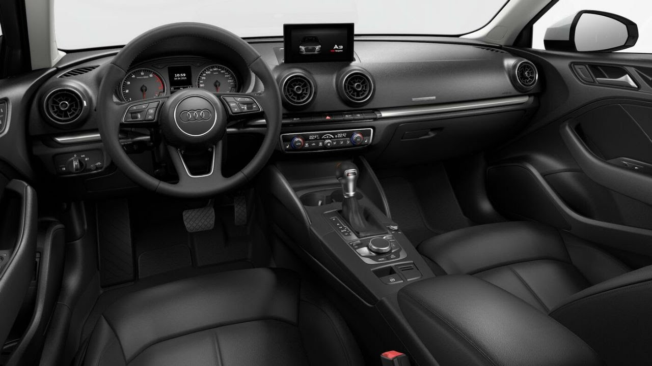 2017 audi a3 sedan interior review youtube