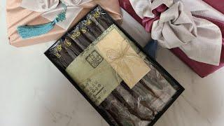 추석선물 도라지정과,보자기포장 테스트영상(갤럭시s7,갤…