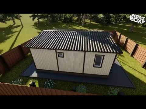 MedioBox: дачный дом из трех блок-контейнеров