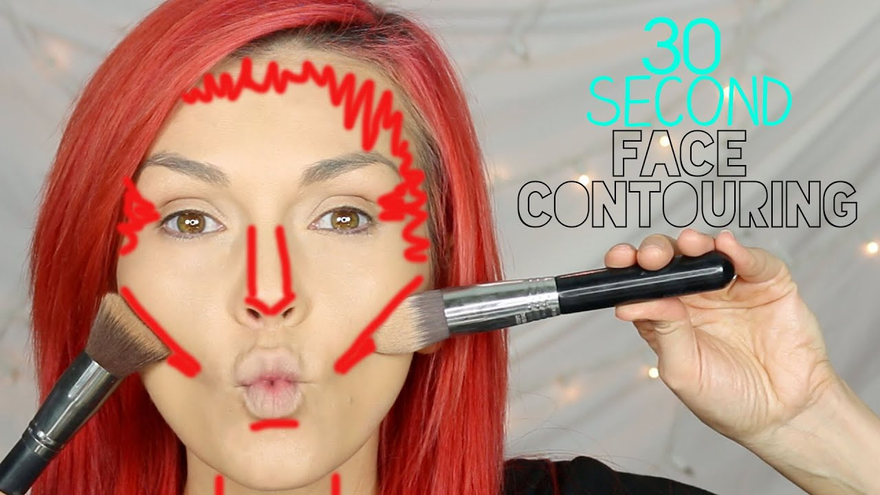 30 second contouring fast makeup like a pro youtube ccuart Images