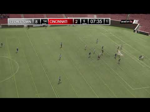 Lacrosse Recap: Cincinnati 10, #24 Georgetown 16