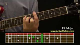 How To Play an F# (Sharp) Chord On The Guitar