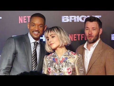Will Smith's BRIGHT Movie GRAND India Premiere Full Video HD