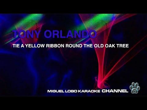 TONY ORLANDO - TIE A YELLOW RIBBON - Karaoke Channel Miguel Lobo