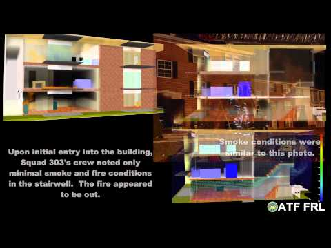 ATF MAYDAY/LODD Fire Modeling Analysis with Scene Audio, FF Mark Falkenhan, Baltimore County FD