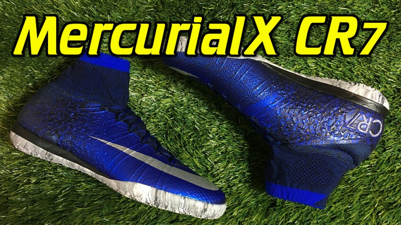 73a953e2c2f CR7 Nike MercurialX Proximo Indoor Natural Diamond - Review + On Feet -  YouTube