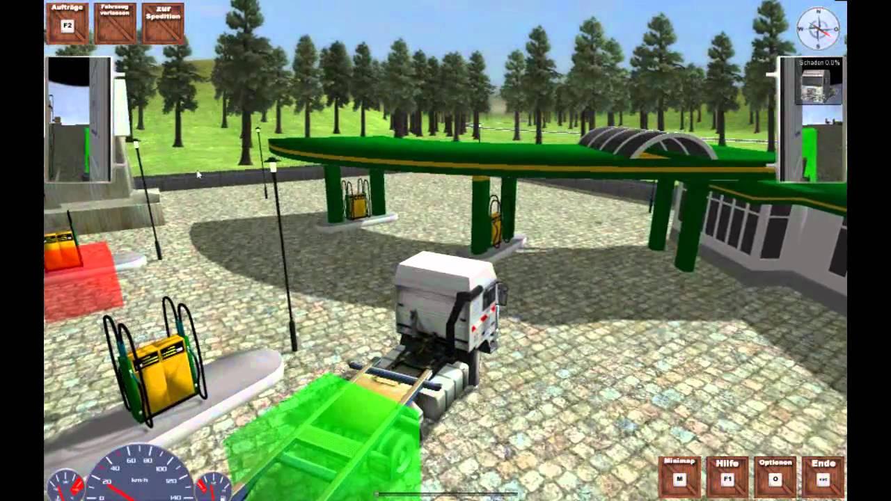 schwertransport simulator demo