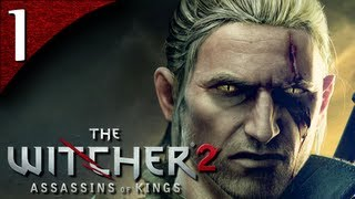 Let's Play The Witcher 2 [BLIND] - Part 1 - Introduction and Tutorial [Enhanced Edition]