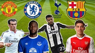 Latest transfer news!!! feat. bellerin,bale,dani alves,lukaku