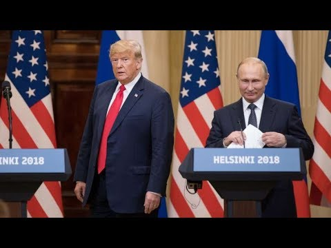 Putin Doesn't Deny Having Compromising Material on Trump