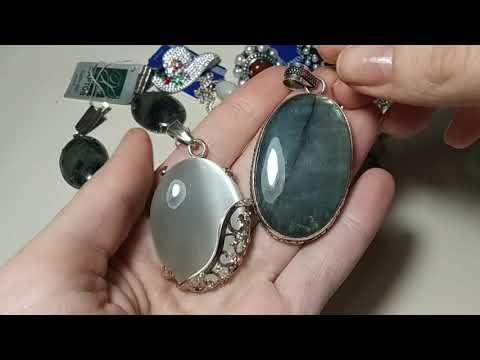 Длинненькое видео,продажа украшений из серебра